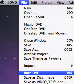 Make Photo DVD Slideshows on Mac