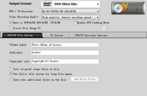 Burn WMV to DVD