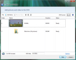 Free Photo DVD Slideshow Software - Windows DVD Maker