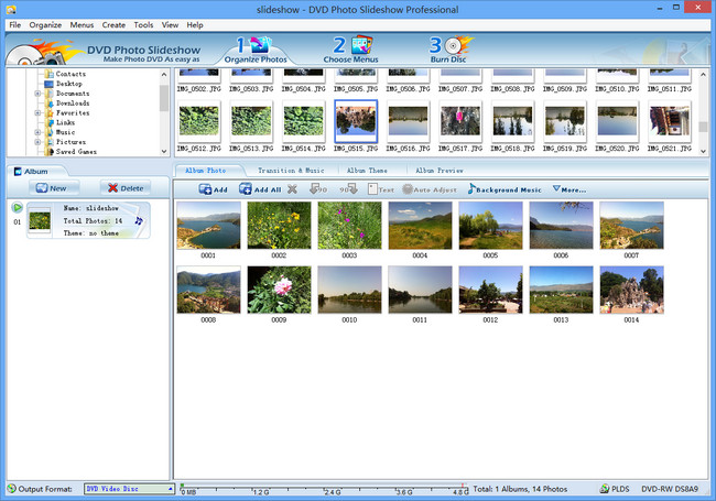 Best Photo Slideshow Software for Windows 8 | Photo DVD Maker