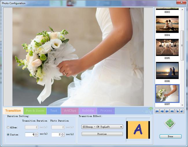 personalize wedding photos