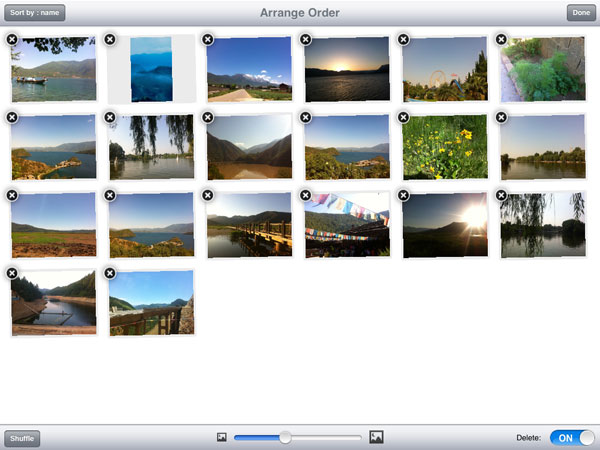 how to delete photo on google slides