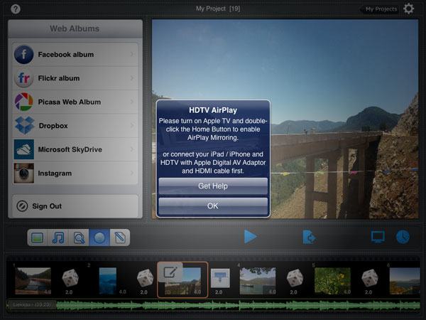 hdtv airplay