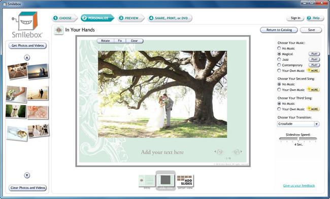 Free Slideshow Software - Smilebox