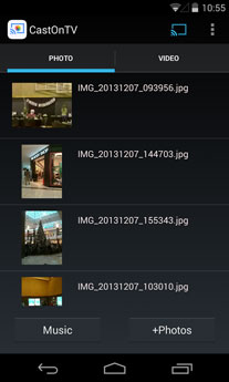 castontv android app screenshot